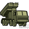 military armored mobile missle launch vehicle