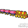 toy train illustration graphic