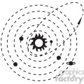 orbit paths vector icon  gif, png, jpg, eps, svg, pdf