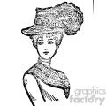 1900 women vintage vintage 1900 vector art GF