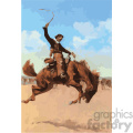 frederic remington vector art bronco buster vector art GF
