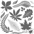 leaf bundle vector art