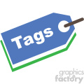 SEO keyword tags vector icon
