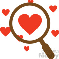 looking for love vector icon