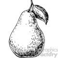 pear vintage art