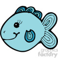 cartoon vector fish 002 c