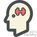 brain training education icon