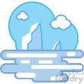 arctic ice nature icon
