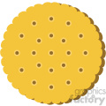 cracker vector flat icon clipart with no background