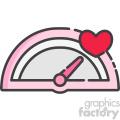 speedometer of love