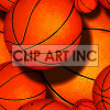 basketball tiled background