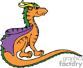 orange dragon picture