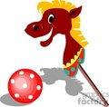 horse horses toy toys   horse001yy clip art animals horse  gif, jpg