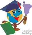 graduation school student students earth books   1004graduation034 clip art education graduation  gif, jpg
