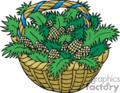 Basket Full of Pinecones