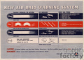WWII New Air Raid Warning System Poster