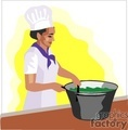 people working cooking cook chef chefs   1004occupations042 clip art people  gif, jpg