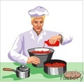 people working chef cook cooking   1004occupations046 clip art people  gif, jpg