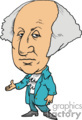 president presidents american political cartoon funny people george washington 1st   pres1_george_washington clip art people government  gif