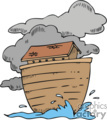 cartoon noah's ark gif