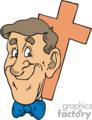 religion religious christian cross man guy lds   christian063_ssc_c_ clip art religion christian  gif