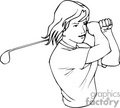 golf golfer golfers golfing   sport147 clip art sports golf  gif, jpg