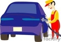 car cars autos vehicles gas fuel station   transportation048 clip art transportation land