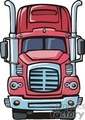 truck trucks autos vehicles semi semis big rigs 18 wheeler   transportationss0001 clip art transportation land  gif, jpg