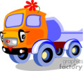 heavy equipment construction truck trucks dump   transport_04_033 clip art transportation land  gif