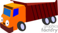 heavy equipment construction truck trucks dump   transport_04_088 clip art transportation land  gif