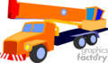 heavy equipment construction truck trucks crane cranes   transport_04_108 clip art transportation land  gif