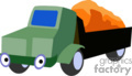 heavy equipment construction truck trucks dump   transport_04_113 clip art transportation land