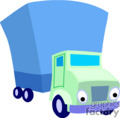heavy equipment construction truck trucks box   transport_04_133 clip art transportation land  gif