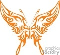 Creative Butterfly vector clip art image