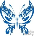 blue pointed wings butterfly gif, jpg, eps