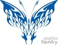 blue fire butterfly