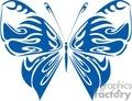 blue butterfly vinyl ready