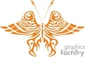 orange arthropod tribal
