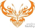 orange  butterflies vinyl ready  gif, jpg, eps