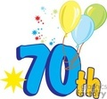 70th bithday