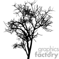 silhouette of a tree in the fall gif, png, jpg, eps