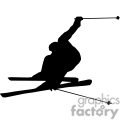 people shadow shadows silhouette silhouettes black white vinyl ready vinyl-ready cutter action vector eps png jpg gif clipart skiing ski snow winter gif, png, jpg, eps