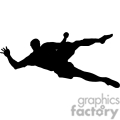 people shadow shadows silhouette silhouettes black white vinyl ready vinyl-ready cutter action vector eps png jpg gif clipart soccer football goalie jump jumping gif, png, jpg, eps