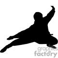 silhouette of a ninja
