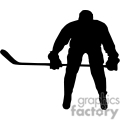 hockey player silhouette gif, png, jpg, eps