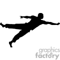 people shadow shadows silhouette silhouettes black white vinyl ready vinyl-ready cutter action vector eps png jpg gif clipart jump jumping