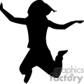 people shadow shadows silhouette silhouettes black white vinyl ready vinyl-ready cutter action vector eps png jpg gif clipart excited jump jumping child gif, png, jpg, eps