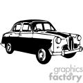 transportation vector vinyl-ready viny ready cutter clipart clip art eps jpg gif images black white car cars old antique antiques classic auto automobile automobiles gif, png, jpg, eps