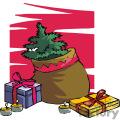 christmas gift bag gif, png, jpg