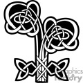 celtic flower design